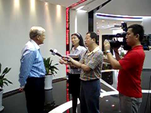 Gwinnett Chamber President, Jim Maran, in Qingdao China