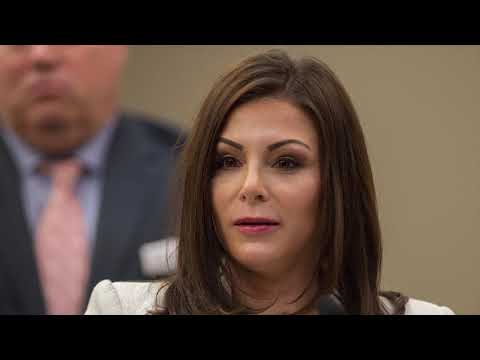 Olympic bronze medalist Jamie Dantzscher speaks at Larry Nassar Sentencing
