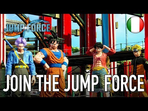 JUMP Force - PS4/XB1/PC - Join the Jump Force (Story Mode Trailer Italiano)