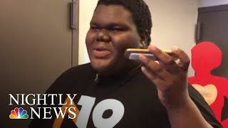 Teen Overcomes The Odds To Be Accepted To 17 Colleges | NBC Nightly News