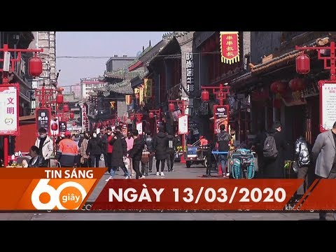 60 Giây Sáng – Ngày 13/03/2020 | HTV Tin Tức