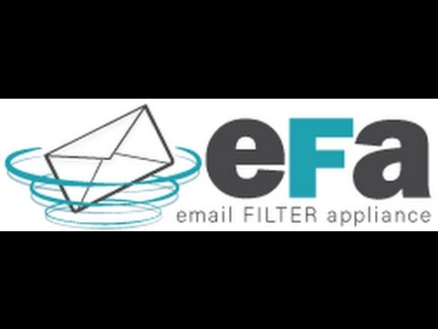 Email Filter Appliance part 1 - install and configure