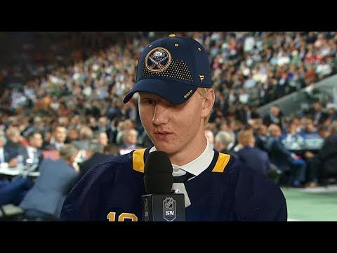 Rasmus Dahlin 'super happy' after selection by Sabres