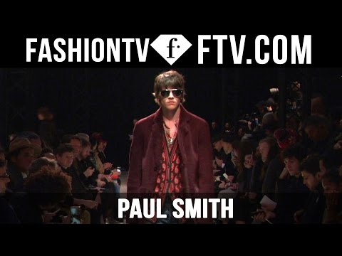 Paul Smith F/W 16-17 | Paris Fashion Week : Men F/W 16-17 | FashionTV