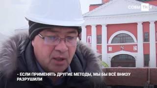 Под собором Казанской иконы Божией Матери восстанавливают Пещерный храм(, 2016-11-17T14:03:59.000Z)