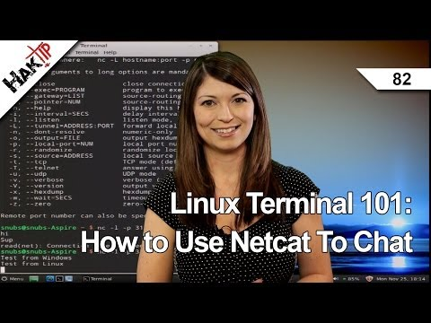 Linux Terminal 101: How to Use Netcat To Chat