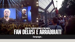 Concerto Pino Daniele al San Paolo, la rabbia dei fan contro gli organizzatori: