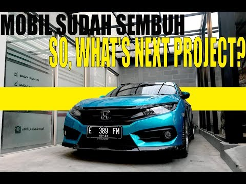 Next Project For Modifikasi Honda Civic Turbo Street Racing #carvlog