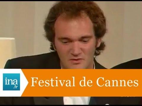 """Festival de Cannes : Palme d'or à Quentin Tarantino pour """" Pulp fiction """" - Archive vidéo INA"""