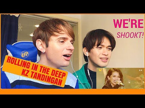 KZ Tandingan Rolling in the Deep Reaction (Singers 2018)