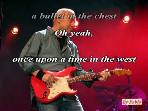 Dire Straits Once Upon the Time in the West Karaoke