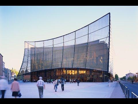 Albi Grand Theater | Dominique Perrault Architecture | 81000 Albi, France | HD