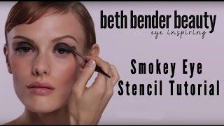 Beth Bender Beauty Smokey Eye Stencil Tutorial (Smokey Eyes) | Beth Bender Beauty Thumbnail