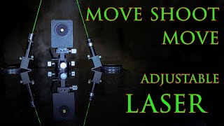 How to use the MOVE SHOOT MOVE adjustable laser! Is it accurate enough for real tracking?