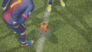 pes 2013 fc barcelona vs real madrid   gameplay comentado   hd
