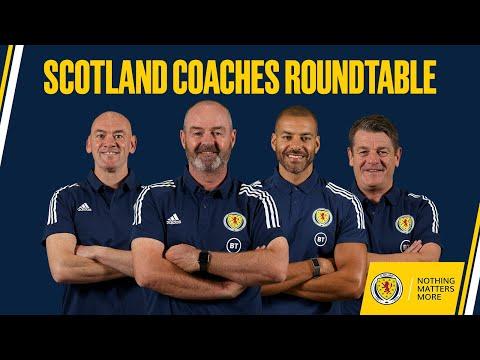 Scotland Coaches Roundtable | Steve Clarke, Steven Reid, John Carver, Stevie Woods