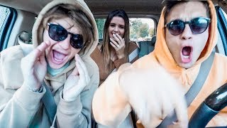 HUSBAND & WIFE (& BEST FRIEND) HIGH SCHOOL MUSICAL 3 CARPOOL KARAOKE