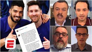 Lionel Messi ESTALLÓ en contra del Barcelona y Bartomeu, en defensa a Luis Suárez. ¿Qué hace Koeman?