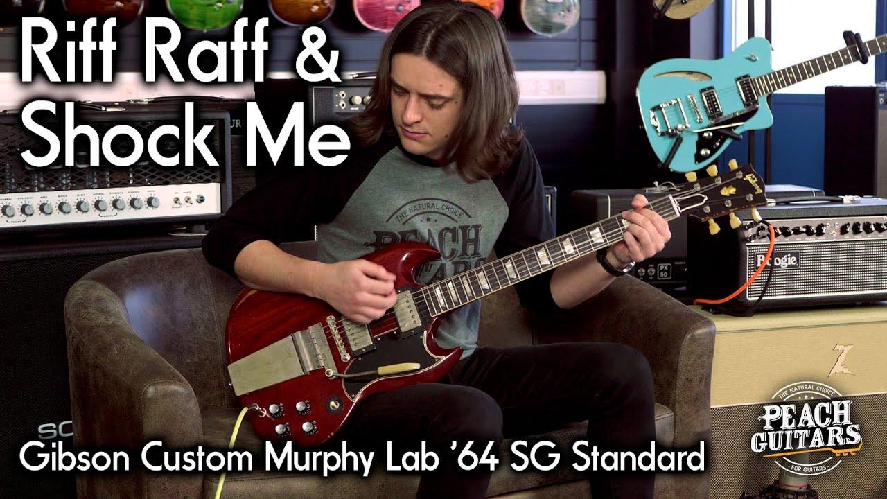 """Riff Raff"" & ""Shock Me"" on a Gibson Custom Murphy Lab '64 SG Standard"