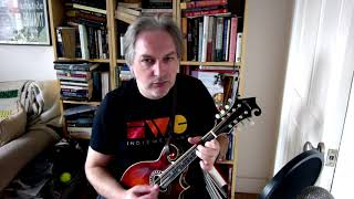 The Bank Of Turf (jig) on mandolin