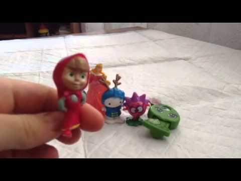 Киндер игрушки Разных коллекций