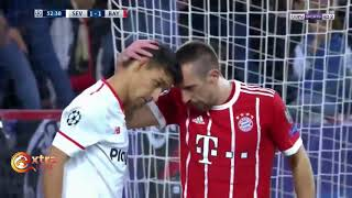 Sevilla vs Bayern Munich 1-2 Highlights & Goals (04-04-2018)