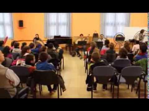 Visita colegial al Conservatorio Elemental de Zaragoza