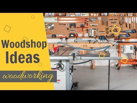 Woodshop Ideas (2019): WoodShop Organization Ideas | WOODWORKING SHOP LAYOUT