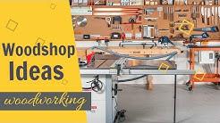 Woodshop Ideas (2019): WoodShop Organization Ideas | WOODWORKING SHOP LAYOUT