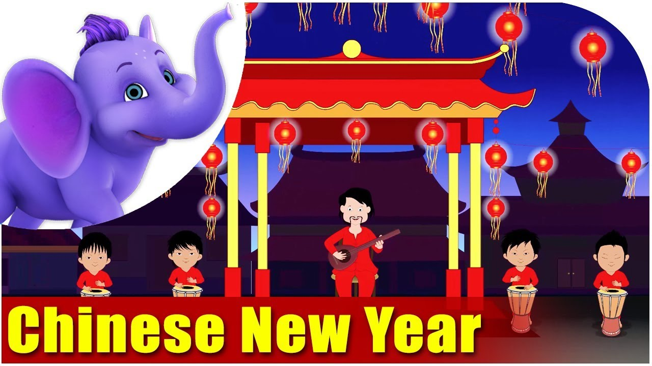 Festival Songs for Kids - Chinese New Year Song - YouTube