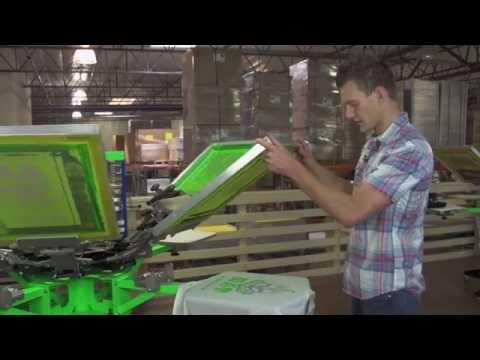 How To Screen Print Wet On Wet To Speed Screen Printing Up