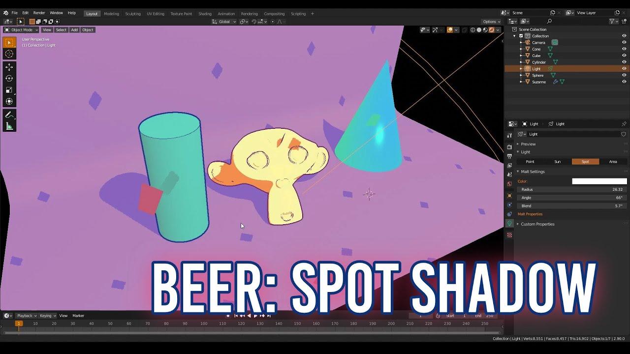 BEER Update: Spot Shadow