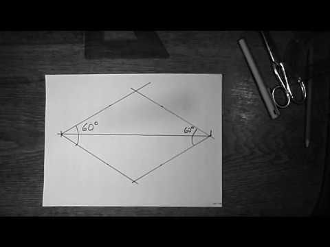 Patchwork - Raute für Stern konstruieren - alle Größen ohne ...