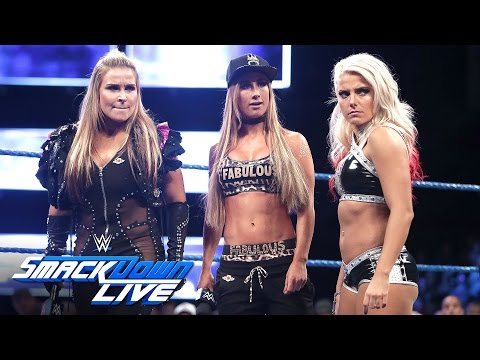 Tensions turn volatile between the Women's Championship participants: SmackDown LIVE, Sept. 6, 2016