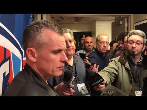 Billy Donovan Postgame Interview / Thunder vs Sixers / Dec 15