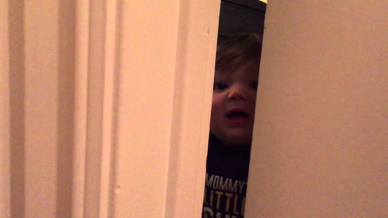 Cooper shutting the door on Mommy! 08-30-15 & Cooper shutting the door on Mommy! 08-30-15 - YouTube