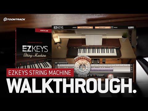 EZkeys String Machine – Walkthrough