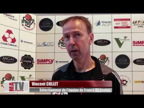 Basket-Ball - Interview de Vincent COLLET