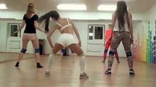 Танец Тверк. Группа начинающих. Dance Life, школа танцев в Белгороде. Twerk видео