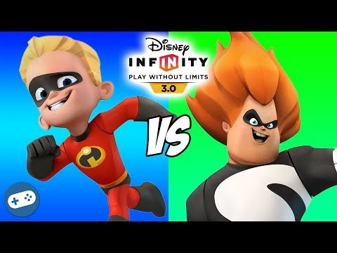 Dash VS Syndrome Disney Infinity 3.0 Toy Box The Incredibles Versus Fight