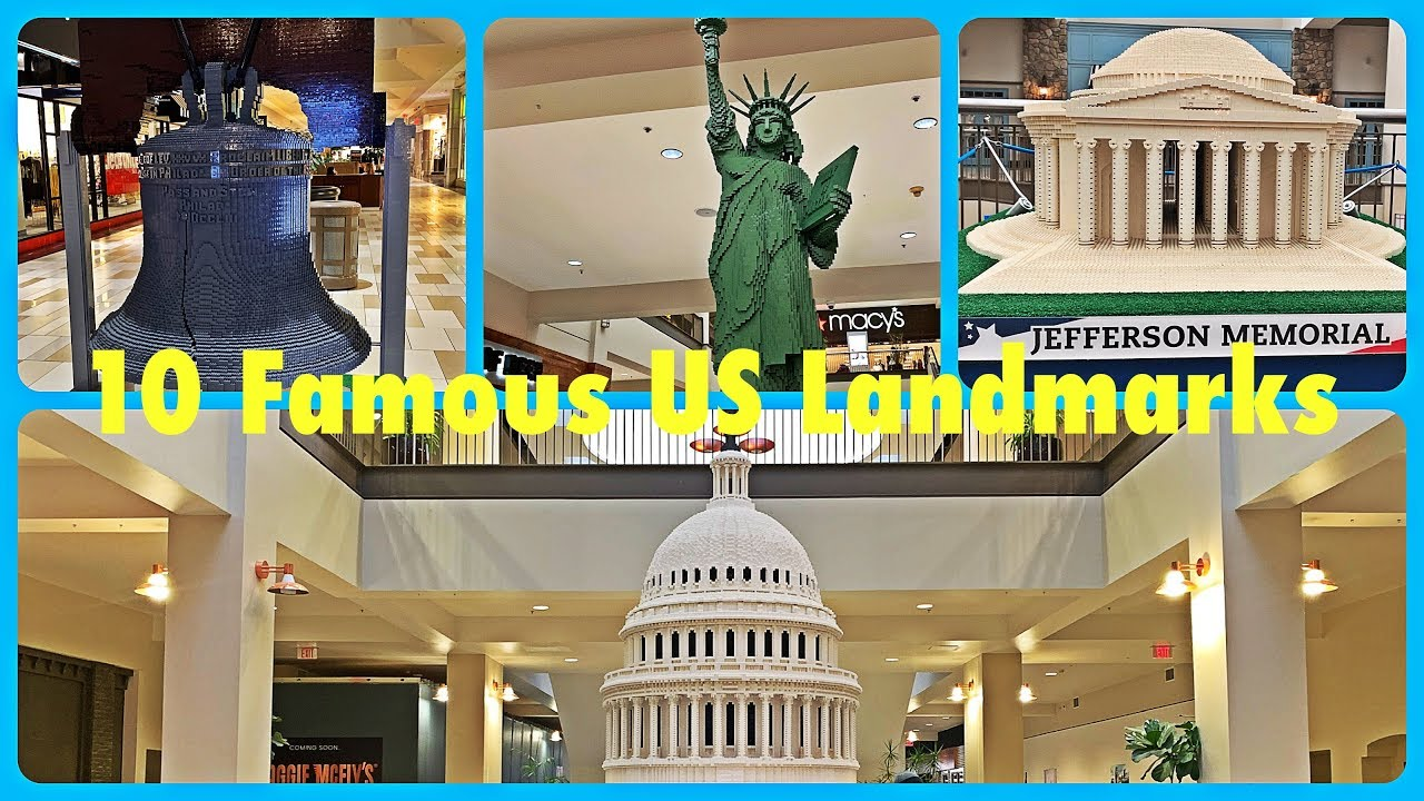 10 Famous All-American Landmarks Made with LEGO 美国十大地标建筑