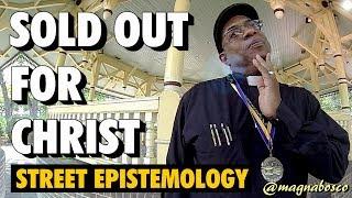 Street Epistemology: Garey | Preacher Teacher Sold Out for Christ