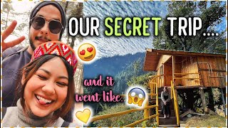 He took me on a secret trip 🥰 vlog | ThatQuirkyMiss
