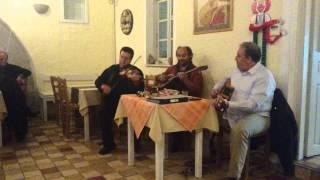 Stou Thoma - Στου Θωμά Greek Rembetiko At Taverna Lava, Santorini