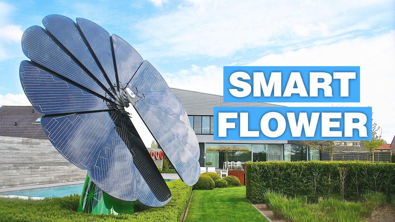 Smartflower An Intelligent Solar Panel System Tracks Sun