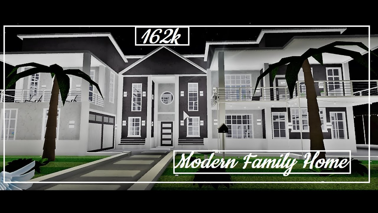 Modern Family Home 162k Ii Bloxburg Youtube Little modern house roblox modern bloxburg family home build and build you a house in bloxburg by akuruptone roblox bloxburg modern houses pin cute small houses. modern family home 162k ii bloxburg