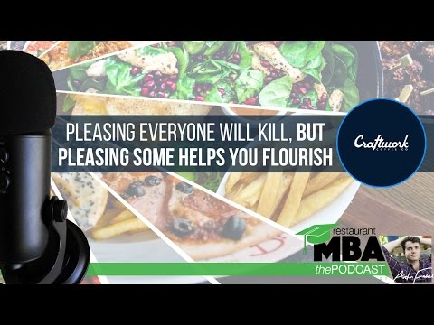Pleasing Everyone will Kill, but Pleasing Some Helps You Flourish w/ Craftwork Coffee - Ep 7