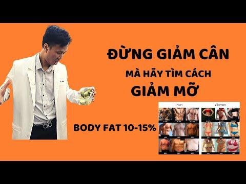 Cách GIẢM CÂN hiệu quả/ ĐỪNG giảm cân hãy giảm mỡ nội tạng - body fat- Dr Hiếu Aesthetic