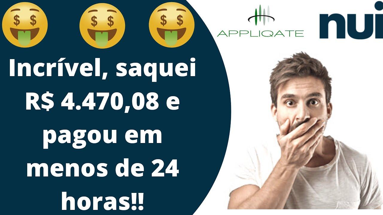 NUI SOCIAL - Saquei R$ 4.470,08 pagou em menos de 24 horas, empresa sensacional, séria e inovadora!!