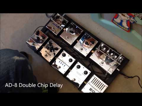 """BIYANG Effect Pedals Tone Fancier series """"test on the fly"""" !!"""
